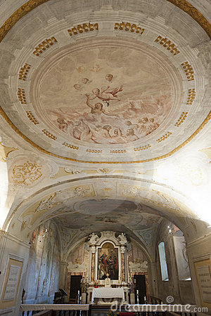 Colle di Val d Elsa, cathedral interior