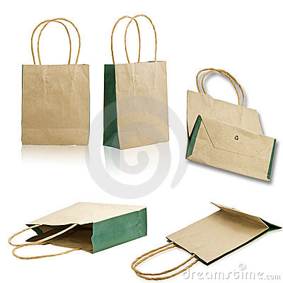Collect paper bag