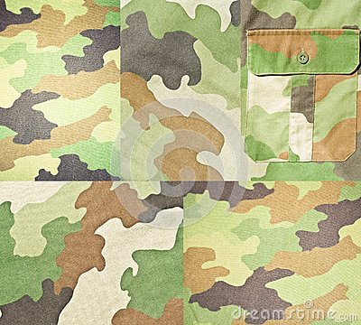 Collection of army backgrounds