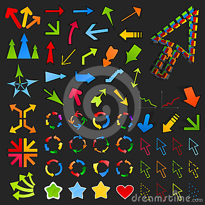 Collection of arrows8