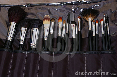 Collection brushes for make-up