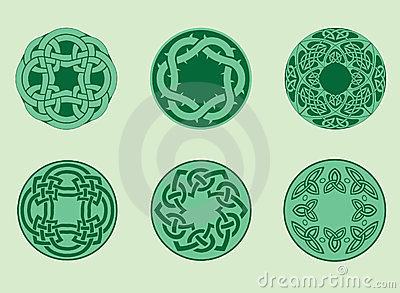 Collection of celtic elements