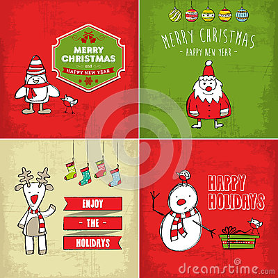 Collection of christmas cards