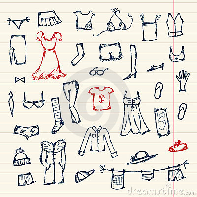 Design Your Clothes For Free Collection of clothes sketch