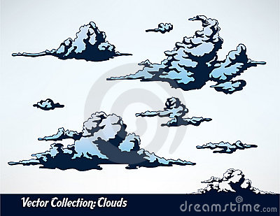 Collection of clouds