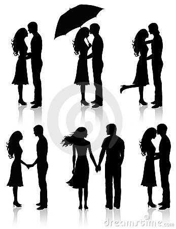 Collection of couples.