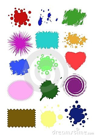 Free Collection Crop Shapes Royalty Free Stock Photos - 7126068