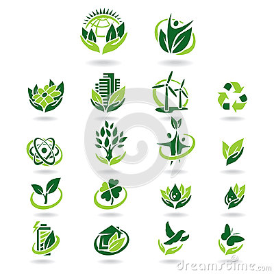 Collection ecology icons