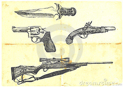 Collection of four weapons