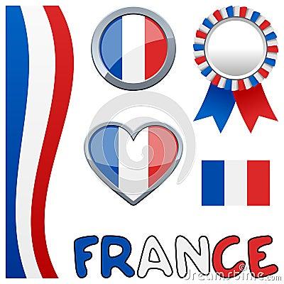France French Patriotic Set