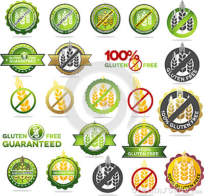 Collection of gluten free seals