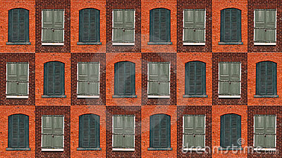 Collection of green windows