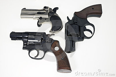 Collection of guns