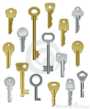 Collection of Keys - Set One