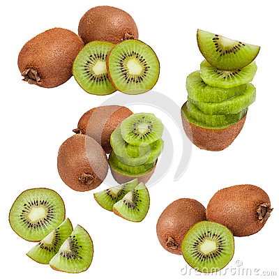 Collection of kiwi