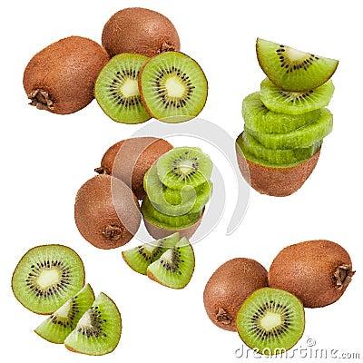 Collection of kiwi