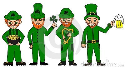 Collection of leprechauns