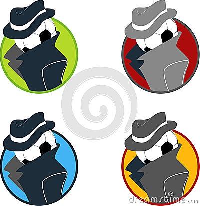 Spy Ball Logo Collection