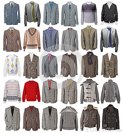 Collection of men s jackets