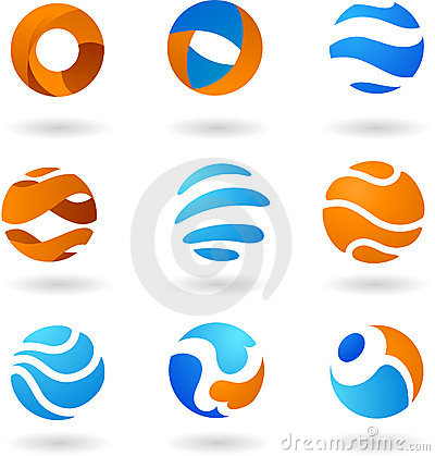 Free Collection Of Abstract Logos Stock Image - 7908001
