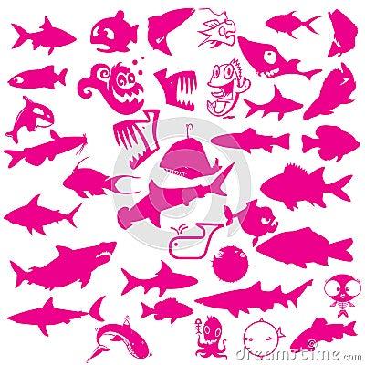 Free Collection Of Aquatic Vector Stock Photos - 9359183