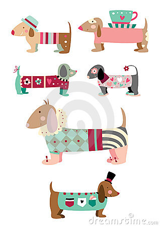 Free Collection Of Cute Dogs Royalty Free Stock Photos - 15395458