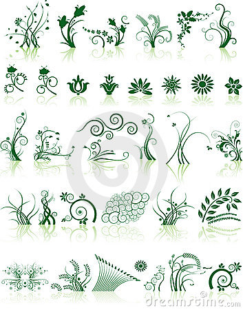 Free Collection Of Floral Designs Royalty Free Stock Photos - 5601518