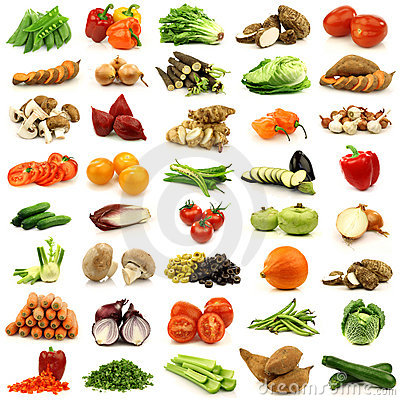 Free Collection Of Fresh And Colorful Vegetables Royalty Free Stock Photography - 22005857