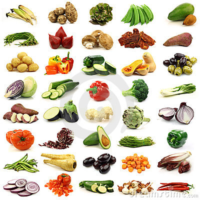 Free Collection Of Fresh And Colorful Vegetables Stock Photo - 22005890