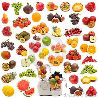 Free Collection Of Fresh Juicy Fruits Stock Photo - 6262720