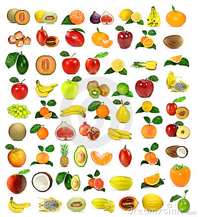 Free Collection Of Fruit Royalty Free Stock Photo - 17505955