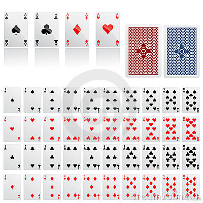 Free Collection Of Game Card Vector Royalty Free Stock Photos - 5440788