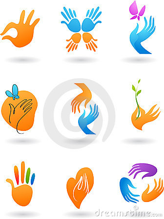 Free Collection Of Hands Icons Stock Images - 8037144