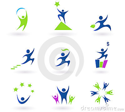 Free Collection Of Human Business And Success Icons Stock Photos - 15112313