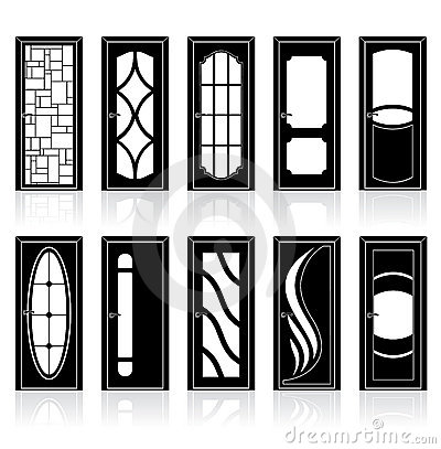 Free Collection Of Interior Doors Royalty Free Stock Photography - 22008477