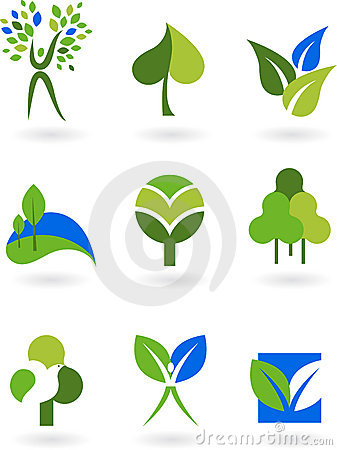 Free Collection Of Nature Icons Royalty Free Stock Photo - 8587475