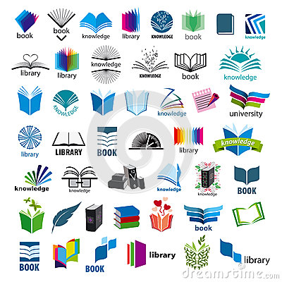 Free Collection Of Vector Logos Books Royalty Free Stock Photos - 36748178