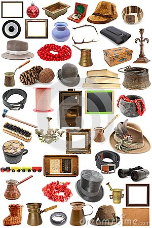 Free Collection Of Vintage Objects Stock Images - 30672844