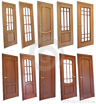 Free Collection Of Wooden Doors Stock Photography - 3299942