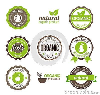Organic Eco Badges
