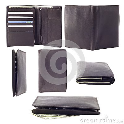 Collection of photographs of male wallet