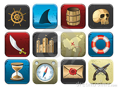 Collection of Pirate Symbols