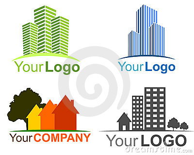 Collection of real estate logos
