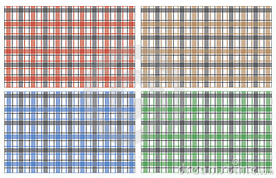 Collection of scottish stylish pattern