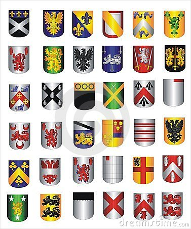 A collection of Shields