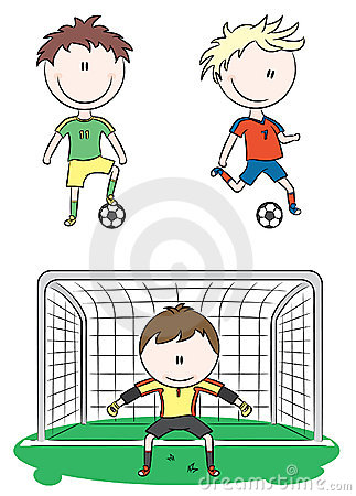 Collection of Soccer Players