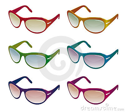 A collection of sunglasses
