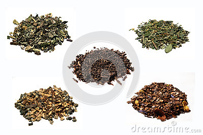 Collection of teas