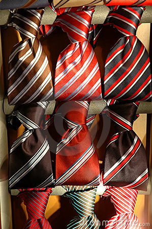 Collection of ties