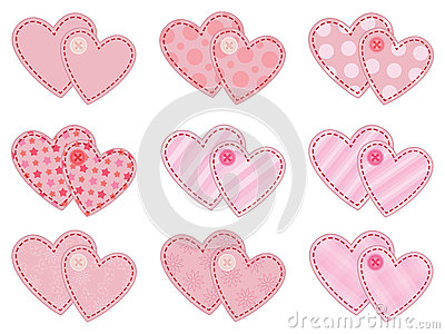 Collection of valentines